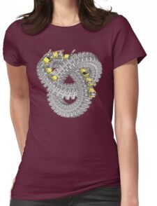 Roller Knot Womens Fitted T-Shirt