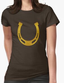 horseshoe Womens Fitted T-Shirt