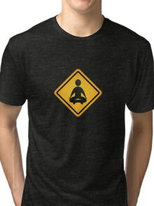 zazen zen sign Tri-blend T-Shirt