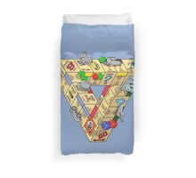 The Impossible Board Game Duvet Cover