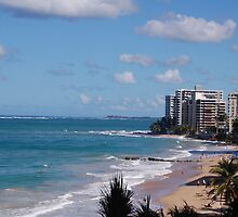 Puerto Rico beach by loserboy
