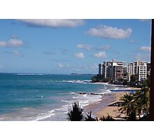 Puerto Rico beach Photographic Print