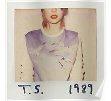 1989 Album Cover Poster