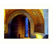 Arch of the ROM. Art Print