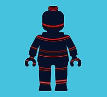Minifig with Curved Stripes by Customize My Minifig