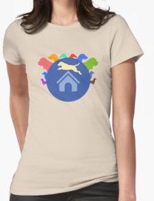 Multicolor Dog  T-Shirt