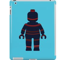 Minifig with Curved Stripes iPad Case/Skin