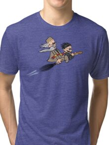 Master and Wizard Tri-blend T-Shirt