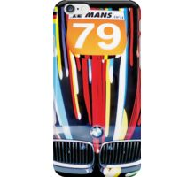 BMW M GT2 Art Car iPhone Case/Skin