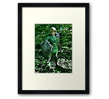 The Legend of Link Framed Print