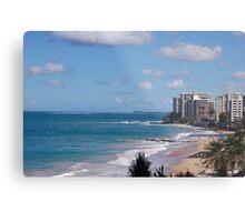 Puerto Rico beach 2 Metal Print