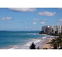 Puerto Rico beach 2 Photographic Print