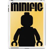 Retro Large Black Minifig iPad Case/Skin
