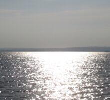 Silver Sea: River Shannon, Ireland Sticker