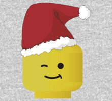 Santa Minifig by Customize My Minifig One Piece - Long Sleeve