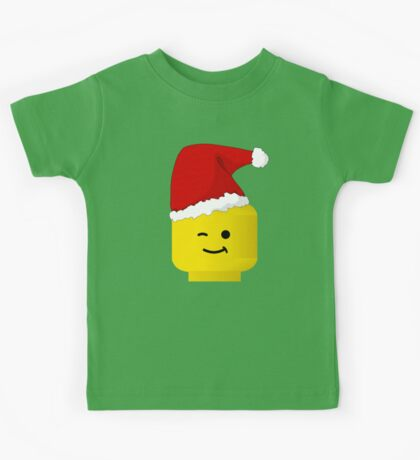 Santa Minifig by Customize My Minifig Kids Tee