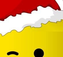 Santa Minifig by Customize My Minifig Sticker