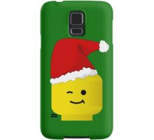 Santa Minifig by Customize My Minifig Samsung Galaxy Case/Skin