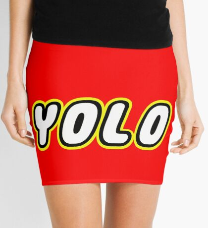 YOLO by Customize My Minifig Mini Skirt