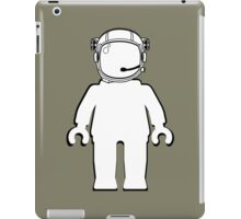 Banksy Style Astronaut Minifigure by Customize My Minifig iPad Case/Skin