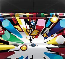 BMW M GT2 Art Car - iPhone / Samsung Galaxy Case by arialite