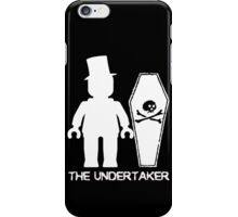 """THE UNDERTAKER""  iPhone Case/Skin"