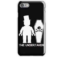 """THE UNDERTAKER""  iPhone Case/Skin"