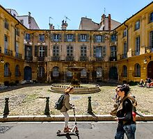 Place d'Albertas by MarcW