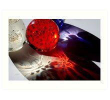 Multi Bubbles Art Print