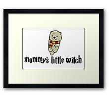 Mommy's Little Witch Framed Print