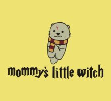 Mommy's Little Witch Kids Tee
