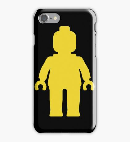 Minifig [Yellow]  iPhone Case/Skin