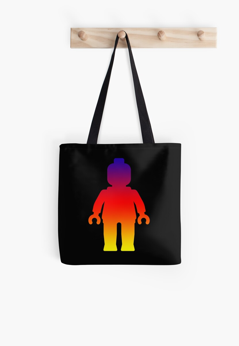 Minifig [Large Rainbow 2]  by Customize My Minifig