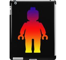 Minifig [Large Rainbow 2]  iPad Case/Skin