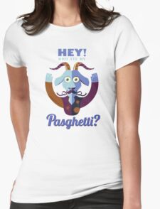 Pasghetti Womens Fitted T-Shirt