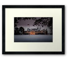 Riverbend Inn Framed Print