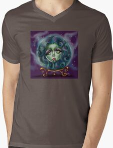 Woman in Crystal Ball  Mens V-Neck T-Shirt