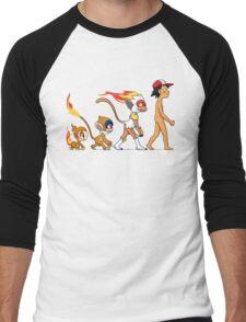 the real evolution Men's Baseball ¾ T-Shirt