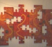 The Puzzle Of Life. by Richard  Tuvey