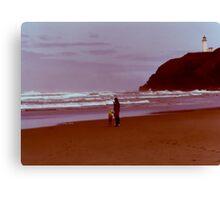 Washington Coast 1976 Canvas Print