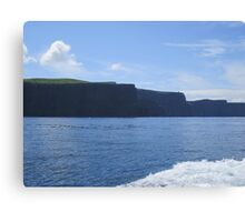The Cliffs of Insanity :: Harry Potter :: Cliffs of Moher, Ireland Canvas Print