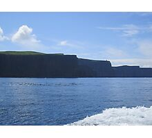 The Cliffs of Insanity :: Harry Potter :: Cliffs of Moher, Ireland Photographic Print