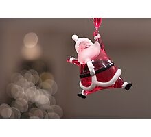 santa is coming Photographic Print