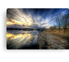 Shoreline to Sunset Canvas Print