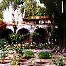 Mission San Juan Capistrano California 4 by Dana Roper