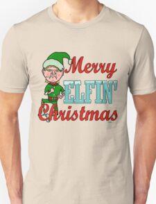 Funny Merry Elfin Christmas Bah Humbug T-Shirt