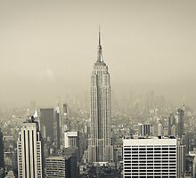 NYC - Empire State Building by Spoungeworthy