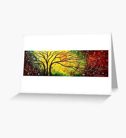The Tree Cosmos Greeting Card