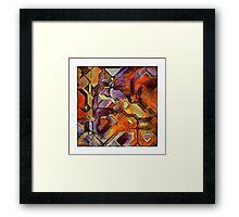 cubixacly 2 Framed Print