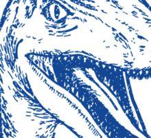 True Blue Raptor Sticker